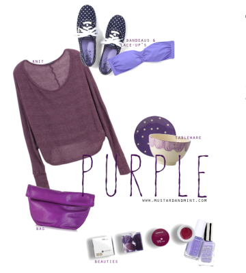 Blog Colour Purple