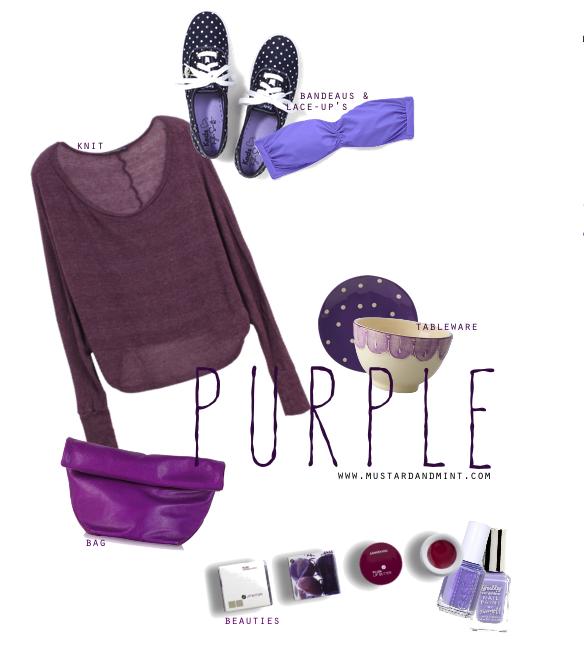 Blog Colour Purple